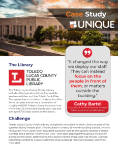 Download Toledo Lucas County Public Library System Case Study
